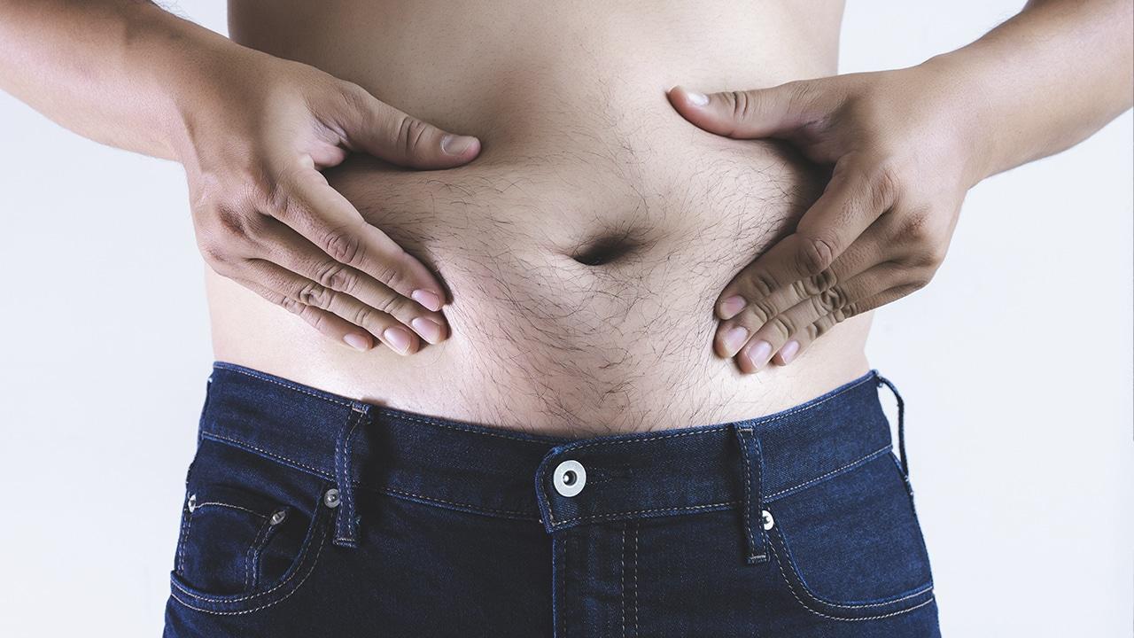 Abdominales para gordos