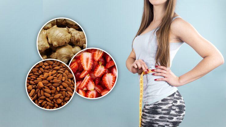 12 Alimentos para acelerar el metabolismo y QUEMAR GRASAS