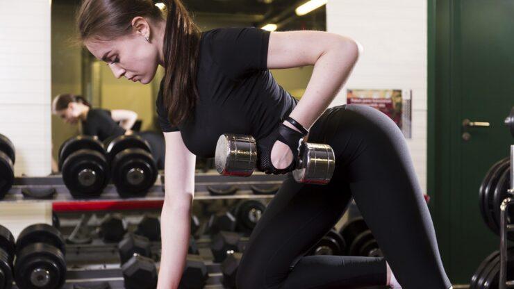Aumento de masa muscular en mujeres
