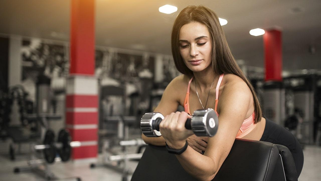 Masa muscular mujeres