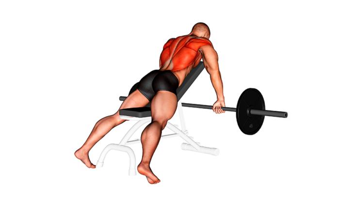 Remo con barra en banco inclinado ¿Cómo hacer este ejercicio para