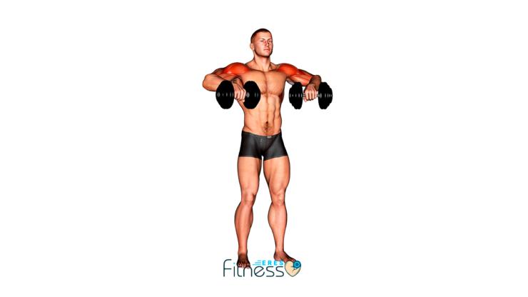 Press cubano ¿Cómo hacer este ejercicio para hombro?