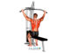 Pull-down o jalón al pecho ancho sentado ¿Qué es y qué músculos trabaja?
