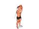 Extensión de tríceps a un brazo en polea baja