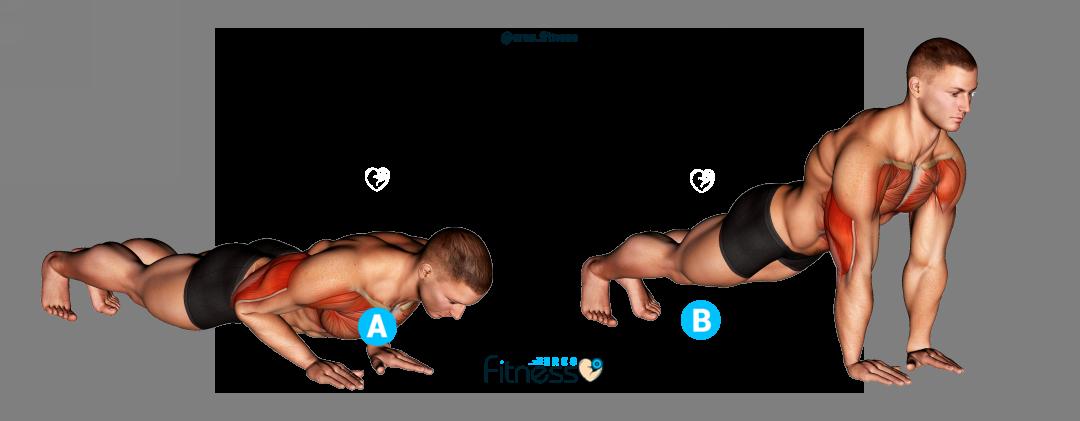 ¿Cómo hacer las flexiones de brazo cerradas?